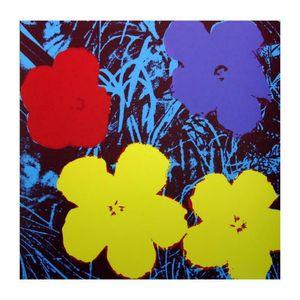 Andy Warhol Flowers Home Dekoration Handwerk / HD-Druck-Ölgemälde auf Leinwand-Wand-Kunst-Leinwandbilder Wand-Dekor 200923