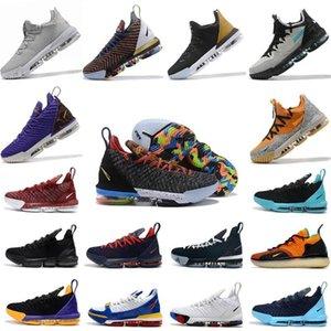 2020 novo James 16s tênis de basquetelebron 16 Homens Tribunal exterior formadores sneakers chaussures esportes sapatos tamanho 40-46 qBb3 #