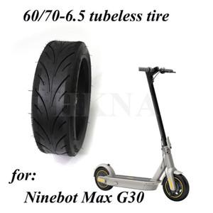 60 / 70-6.5 бескамерных шин для Segway Ninebot Макс G30 электрический самокат 10-дюймовый 60 / 70-6.5 Передняя и задняя шина колеса частей