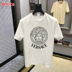 2020 hommes concepteur t-shirt VERSACE vêtements lettre Imprimer tee-shirt d'été de la mode t-shirt femmes Casual Street hommes Tee-shirt de