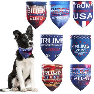 BIDEN TRUNFO Animais Cachecóis Adultos Magia lenço 2020 presidente eleição americana Donald Trump Biden Carta Turban Cães Gatos Bandanas DBC BH3786