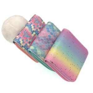 Fashion Kid Short Wallet Colorful Women Zipper Purses Clutch Leather Wallets Card Holder Money Clip Coin Purse Student Money Bag BH1628 BC