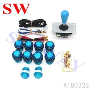 Hot Sale DIY Arcade KIT 1 Player Zero Delay USB to PC Sanwa style Joystick Arcade Game Machine Parts for Jamma Fighting Games