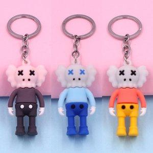 الغراء لينة الإبداعية سلسلة هدية كوس المفاتيح قلادة الكرتون البلاستيكية شارع سمسم قطرة الغراء دمية حقيبة قلادة هدية الإبداعية