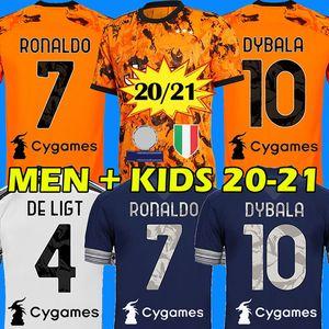 RONALDO DYBALA 20 21 juventus maillot de football DE LIGT maillot de juventus BONUCCI CHIELLINI juventus soccer jersey 2020 2021 BERNARDESCHI football shirt