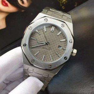 Audemars Piguet ap 6 Art-Qualitäts-Black Sapphire Mens 41mm Uhr Automatik-Uhrwerk arbeiten mechanische Uhren ROYAL OAK 15400 Armbanduhren dlax #