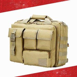 Тактическая Компьютерная сумка 20L большой емкости Многофункциональный портативный Бизнес Компьютер 15,3 Laptop Bag Tactical Спорт на открытом воздухе Сумки