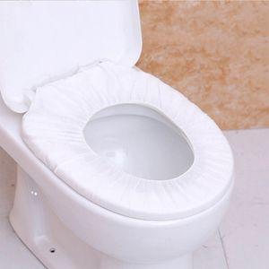 Disposable Toilet Seat Pad Business Trip Hotel Bathroom tessuto non tessuto della carta igienica Pad Covers Bagno Sanitari Accessori VT1536
