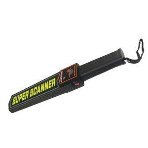 Ручной детектор металла Малый детектор Регулируемое Sensitive перезаряжаемый Security Checker Security Checker