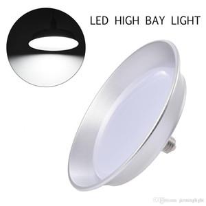 워크샵 슈퍼마켓을위한 미국 주식 50W LED 높은 베이 빛 E27 전구 높은 밝은 창고 공장 Fxitures 110V