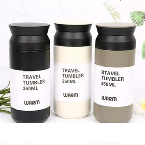 New 350Ml 500Ml Travel Tumblers 304 Stainless Steel Vacuum Car Cups Flask Insulated Mug Coffee Pot A05
