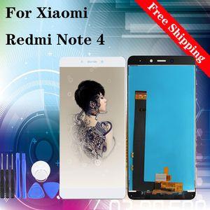 "5.5 ""LCD عالية الجودة لXIAOMI Redmi ملاحظة 4 مي ملاحظة 4 LCD شاشة عرض تعمل باللمس استبدال محول الأرقام الجمعية أسود أبيض"