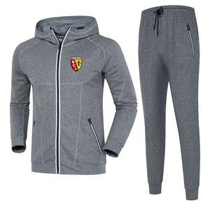 RC Lens 2020 осенне-зимний костюм футбол спортивный костюм средней длины обычая мужские спортивные DIY одежда спортивная мужская случайных спортивной