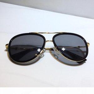 Kadınlar için tasarımcı güneş gözlüğü 0062 klasik Yaz Moda Stil Metal Çerçeve gözlük Üst Kalite gözlük UV Koruma Mercek 0062S