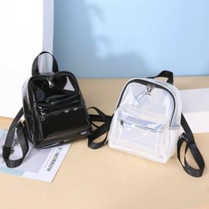 2019 School Clear PVC See Mini Transparent Backpack Cute Through Female Arrival Bags Tote Backpacks Book For Women Bag Siugf