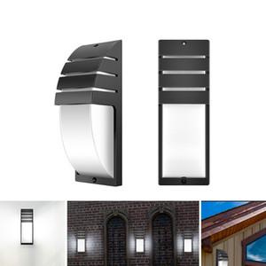 lámpara de pared COB LED de la CA 85-265V lámpara de pared minimalista moderna al aire libre 8W impermeable IP65 corredor de la casa Balcón luces decorativas
