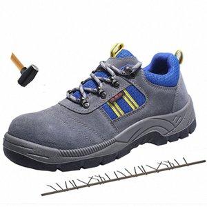 New Anti Smashing Homens Segurança do Trabalho Shoes Aço Toe Cap botas de protecção Homens Duplas Waterproof não Slip Outdoor Sneakers 7I4e #