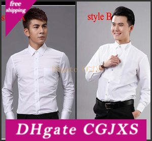 Top Quality Groom Shirts Best Man Shirts Wedding  Prom Shirt Standard Size J1