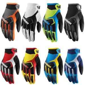 2020 yeni thor baş açık sürme eldiven motosiklet bisiklet yokuş aşağı eldiven nefes kış tam parmak eldiven