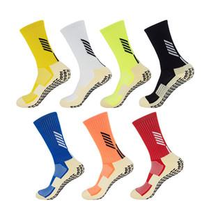 Для покупателя, чтобы сделать заказ на собственном путь Mid-телячьего хлопок футбол Носок Bale Сокс спортивных носков Антипробуксовочной футбол носки