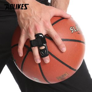 Aolikes Sport Finger Splint Garde Bands Bandage Soutien Wrap Basketball Volleyball Football doigtier manches Caps Protector