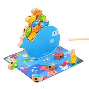 24 Set / caja Niños Niño Niña Pesca Traje juguete magnético Juego Juguetes Bebé del agua Modelo Circular juega al por mayor caliente