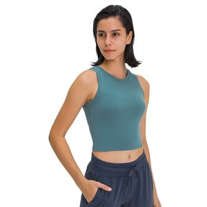 Frauen-Compression Yoga Crop Top Workout-Tanktops Ärmel Sport Shirts Fitness High Neck Sport Turnhallen-Hemd