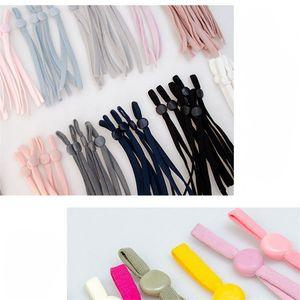 Anti Slip Elastic Cappello Banda Mask regolabile Prolunga Hanging Ear corda Grips stoffa colorata Accessori 0 12wf B2
