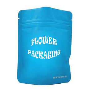 Saco dos doces dos cookies dos edibles Personalizado e-cigarro Pacote vazio do zíper do zíper de varejo Matéria à infância Bags plástico do logotipo do logotipo de plástico