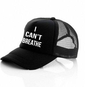 Non riesco a respirare cappello nero VIVE MATERIA, giustizia per il cappello del sole George Floyd del cappello di Snapback Uomini Baseball Cap LJJK2159 TWZq #