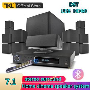 TKL 7.1 Channels Home Entertainment-System USB-Bluetooth-3D-Surround-Sound Subwoofer-Lautsprecher-System