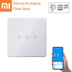 Xiaomi xiaobai Smart Wireless Remote Switch For Home Light Controller Touch Control Work With Bluetooth Mesh Gateway Mi Home APP