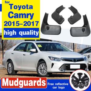 Mudflaps respingo Guardas da aleta da lama dianteiro traseiro Pára-lamas Fender conjunto de acessórios moldados Car Mud Flaps Para Toyota Camry 2015 2016 2017