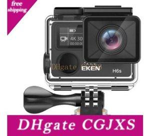 عالية الجودة EKEN H6s الرياضة كاميرا 2 0.0 0 .95 المزدوج الشاشة كاملة الوضع العيص فيديو 4K واي فاي 170 سوبر عدسة ماء كاميرات عمل 1PCS
