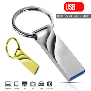 High Speed Pen Drive 64GB Pens 128GB Flashes USBs Stick 32GB cle usb memory 16GB Flash Drives 8GB For Micro Type-c adapter