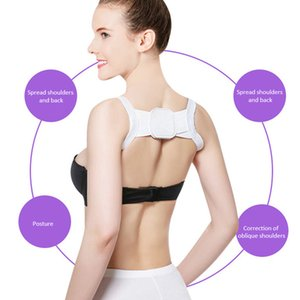Back Posture Corrector Clavicle Back Support Correction Straight Shoulders Brace Strap with for Adult Children