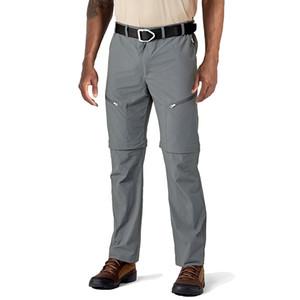 2020 Pantaloni Outdoor Convertiable Cargo uomini di estate Quick Dry escursionismo pantaloni di scarsità Leggero viaggio Camping Shorts Pantaloni