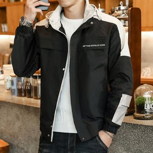 2020 yeni erkek beyzbol üniform tulum ceket sonbahar Kore tarzı gündelik moda beyzbol üniforma büyük boy ceket erkek clothin overalls