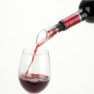 Vin rouge Aérateur Verser Bouteille Stopper Spout Decanter Verseur Aérateur Aérateur à vin Bec verseur Bouteille Stopper DHC1766