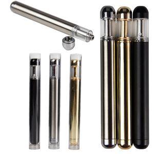 V70 Disposable Device Pod Gold V70 Empty Vape Pen Cartridges 0.5ml Carts Glass Tank 350mAh Battery Vaporizer Starter Kit