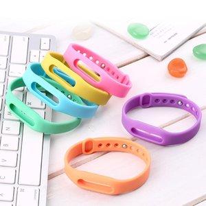 Cgjxs colorido reemplazo pulsera de silicona banda reloj de pulsera de la correa de muñeca de la correa Protective del caso para Xiaomi Mi Banda SmartBand Miband