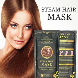 Aliver Marque Chauffage Masque à vapeur Masque Magical Traitement Masque Réparations Dégâts Restauration Les cheveux doux Tous les cheveux