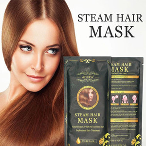 ALIVER Brand Heating Steam Hair Mask Magical Treatment Mask Repairs Damage Restore Soft Hair All Hair