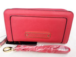высокое качество кк бумажника длинный дизайн кошелек кожаный PU держатель карточки 3 цвета Hasp дамы кк длинный бумажник кошелек высокого класса сумочку