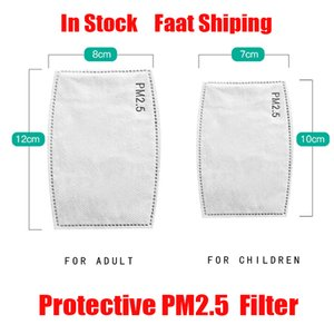 5 Layer Protective PM2.5 PM 2.5 Filter Paper Disposable Mask Pad Face Masks Inner Pad Gasket Replacement Filter Pads Respirator Mask Hot