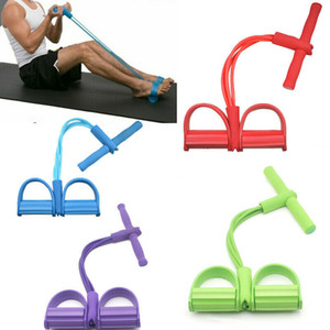 Fitness Bands Resistance Pedal Exerciser Sit-Up Pull Rope Expander Elastic Bands Sport Yoga Equipment