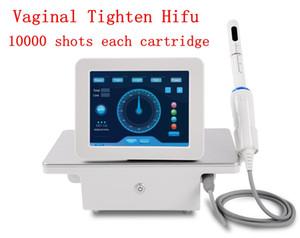 2020 vendite calde !!! Portable HIFU macchina High Intensity Focused Ultrasound HIFU vaginale serraggio ringiovanimento della pelle Cura della macchina di bellezza DHL