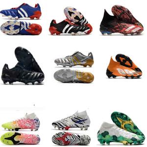 Alta caviglia predatore Scarpe Calcio Mercurial Superfly VI 360 uomini Elite donne bambini scarpe da calcio predatore mania Purechaos Tacchetti Calcio