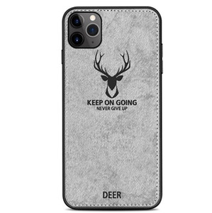 Cloths Pattern PC TPU Case For iPhone 12 11 Pro Max Samsung Note 20 10 9 8 Pro S20 S10 PLUS M31S A51 Clot Elk Deer Bull Bat Phone Case Cover