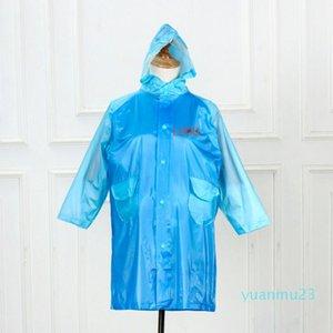Wholesale-Customized children's student poncho double single thickening increase raincoat poncho